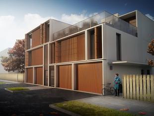 Grupa 5 Architekci: projekt budynku mieszkalnego przy ulicy Lirowej w Warszawie