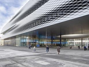 Centrum wystawowe w Bazylei projektu Herzog & de Meuron