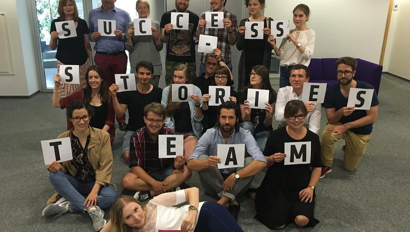 Success Stories workshop - making of